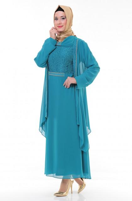 fa7331a99d7d6 Espera Büyük Beden Tesettür Elbise Modelleri | Tesettür Giyim ...